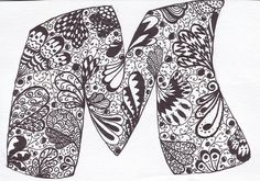 doodle drawing 1 by memyni, via Flickr