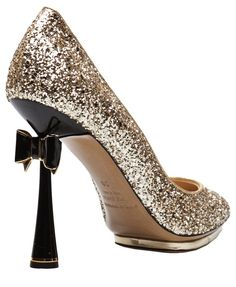 65f6a1fe5d9 Nicholas Kirkwood Glitter Bow Pump Best rayban for you
