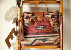 navajo carpet bag