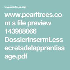 www.pearltrees.com s file preview 143988066 DossierInsermLessecretsdelapprentissage.pdf