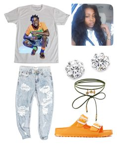 """""""They don't wanna see ya winning"""" by brejeasmith on Polyvore featuring Kodak, OneTeaspoon, Birkenstock, Kenneth Jay Lane and Accessorize"""