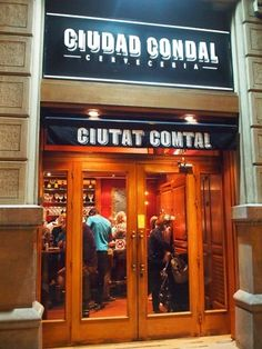 ciudad condal bar in Barcelona, Spain