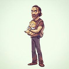 The Walking Dead / Rick and Judith
