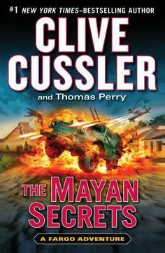 The Mayan Secrets (Fargo Adventure, #5) by Clive Cussler In stock @ Canterbury Tales Bookshop / Book exchange, Pattaya.