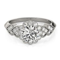 Transcendent Brilliance Heart Over Heart Halo Diamond Engagement Ring 1 1/10 TDW (White - Size 5), Pink Rose