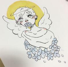 looks like my boi🌻 Art Inspo, Inspiration Art, Pretty Art, Cute Art, Bel Art, Character Art, Character Design, Art Du Croquis, Art Mignon