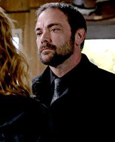 Crowley and Mark Sheppard