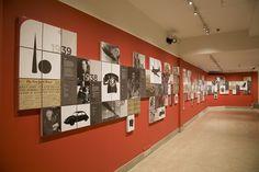 Modernism Timeline by Jason Mathews Gottlieb, via Behance