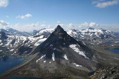Trekking in Jotunheimen, Norway