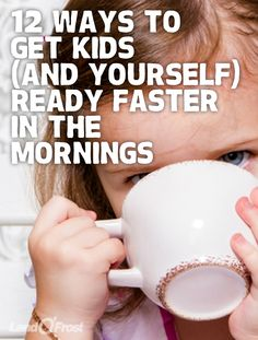 Need to catch up on your Zzzs? Here are 12 ways to get you and the kids ready faster in the mornings, leaving more time for some much-needed sleep.