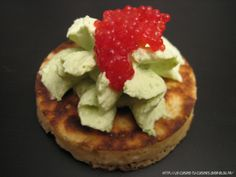 BLINIS CHANTILLY A L'ANETH - OEUFS DE LUMP