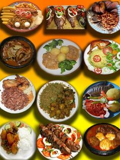 The typical Liberian Spread.very true and then some! Ghanaian Food, Nigerian Food, Gourmet Recipes, Real Food Recipes, Cooking Recipes, Liberian Food Recipe, Middle East Food, West African Food, World Recipes