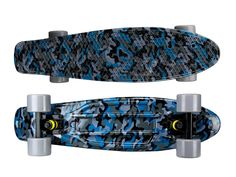 "Zycle Fix Mayhem 22"" Penny Style Skateboard (Camo Blue)"