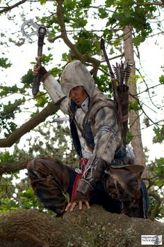 Un cosplay Assassin's Creed III phénoménal ! | Souvent copié, jamais collé !