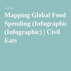 Mapping Global Food Spending (Infographic) | Civil Eats