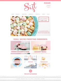 Looking for cupcake website design inspiration for your bakery or cake website? Check out our list of 10 beautiful cupcake website to inspire you! Bakery Website, Restaurant Website Design, Food Website, Website Ideas, Website Design Layout, Website Design Inspiration, Layout Design, Design Design, Web Design Logo