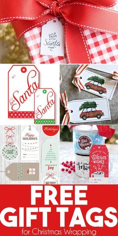 8 Designs x 5 Count Each Gift Tags Christmas//New Year Season 40 Pack
