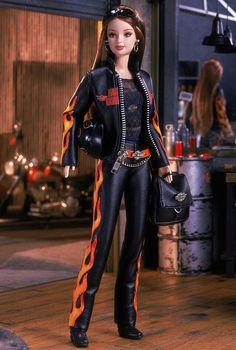 Even Barbie loves Harleys