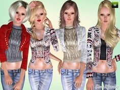 Casuals by Sims2fanbg  http://www.thesimsresource.com/downloads/1167539