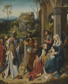 THE PSEUDO BLES THE ADORATION OF THE MAGI