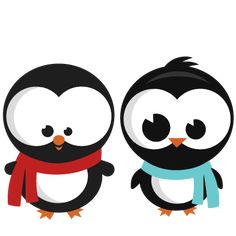 Penguin Set SVG cutting files for scrapbooking winter cut files for cricut cute svg cuts free svg cuts free svgs