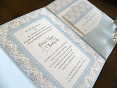 #Wedding #pastel #blue … ideas, ideas and more ideas about  HOW TO plan a wedding  ♡ https://itunes.apple.com/us/app/the-gold-wedding-planner/id498112599?ls=1=8