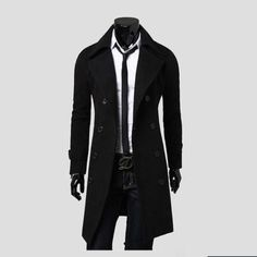 Find great deals on eBay for Mens Winter Long Coats Black in Men's Coats And Jackets. Shop with confidence.