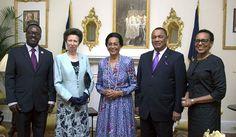 This week The Princess Royal is visiting The #Bahamas, #Barbados, #Grenada and #Jamaica for @CCELD2015