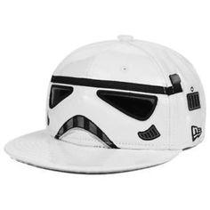 3fbaa2c39a285  49.99 Star Wars Stormtrooper Big Face 59FIFTY Cap Helmet Hat New Era  Fitted Solo Mens