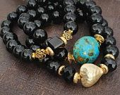 Surfer Bracelets, Thread Bracelets, Black Bracelets, Beaded Bracelets, Fashion Bracelets, Etsy Jewelry, Handmade Jewelry, Handmade Items, Boho Jewelry