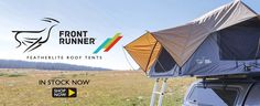 Front Runner Featherlite Roof Tent In Stock Now 4x4 Parts, Front Runner, Outdoor Gear, Trek, Camping, Campsite, Campers, Tent Camping, Rv Camping
