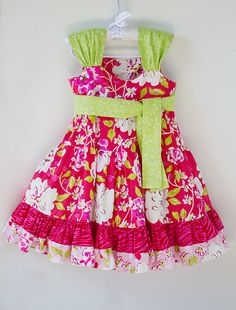 b64f4ea4d0 Items similar to Rose Tea Garden Dress - Size 6mos-8 - New Summer 2011 on  Etsy