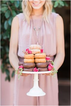 Donut tower | Snap Lovely Photography