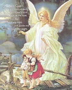 Traditional guardian Angel  | Traditional Guardian Angel