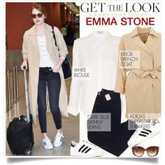 GET THE LOOK Emma Stone.
