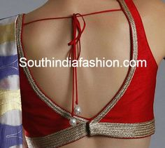 v back neck blouse
