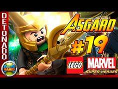LEGO Marvel Super Heroes Parte #19 Recepção Gelada - Walkthrough