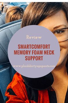 Click to read my review of the SmartComfort Memory Foam Neck Support. See how you can get one for yourself!