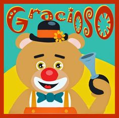 Students and amigos keep suggesting more osos . Estudioso, gracioso, and talentoso. Spanish Puns, Spanish Sentences, Spanish 1, Spanish Lessons, Learn Spanish, Spanish Alphabet, Spanish Classroom Activities, Learning Spanish For Kids, Teaching Spanish