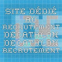 Site dédié au recrutement Decathlon - Decathlon Recrutement
