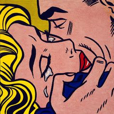 Kiss V - Roy Lichtenstein