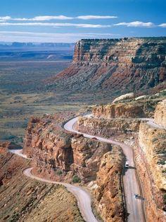 Road into Valley of the Gods by José Fuste Raga