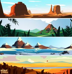 ArtStation - The Trail - Marketing Assets, Shayleen Hulbert