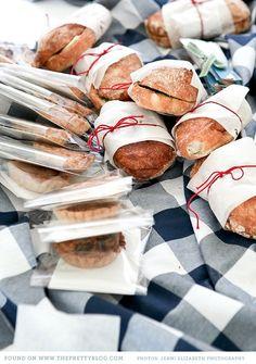 picnic sandwiches | Style Me Pretty