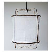 Z5 White Cotton Lampe  Handgefertigte Z5 Hängeleuchte White Cotton designed by Nelson Sepuvelda und Marc Eden