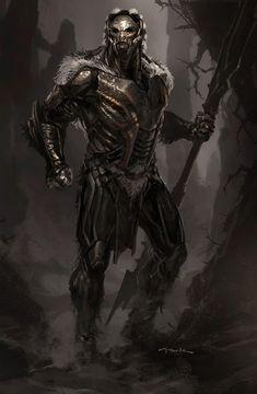 Thor Dark World concept artwork by Andy Park