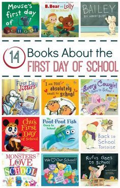 Books About the First Day of School from Fantastic Fun and Learning