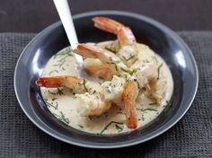 Découvrez la recette Blanquette de crevettes sur cuisineactuelle.fr.