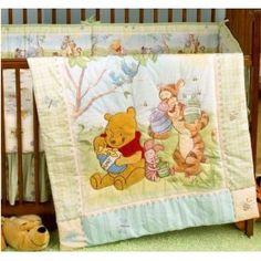 Baby boy room disney crib bedding sets 37 New ideas Winnie The Pooh Bedding, Winnie The Pooh Blanket, Winne The Pooh, Disney Crib Bedding, Crib Bedding Boy, Baby Bedding Sets, Disney Nursery, Baby Crib, Cot