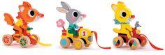 Mark Boutavant pull along toys